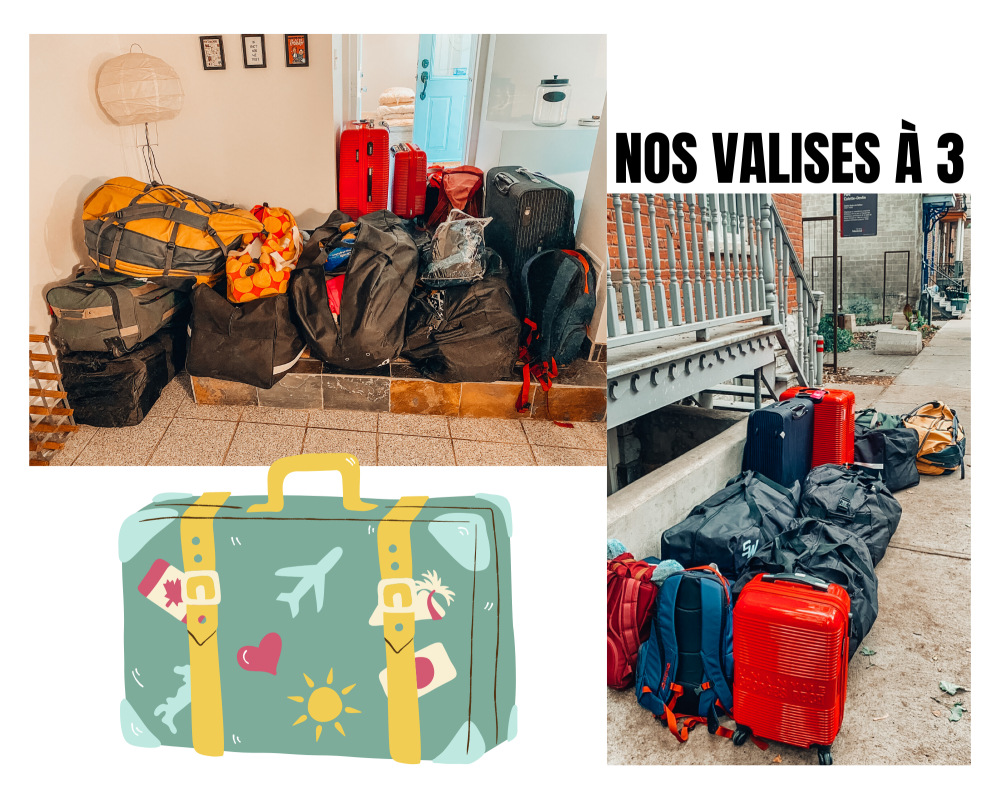 valises retour france